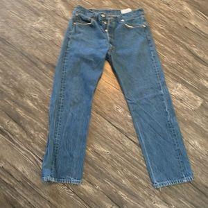Men's Levi's 501 worn